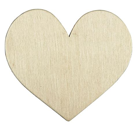 ArtMinds Wood Simple Shape Heart Michaels
