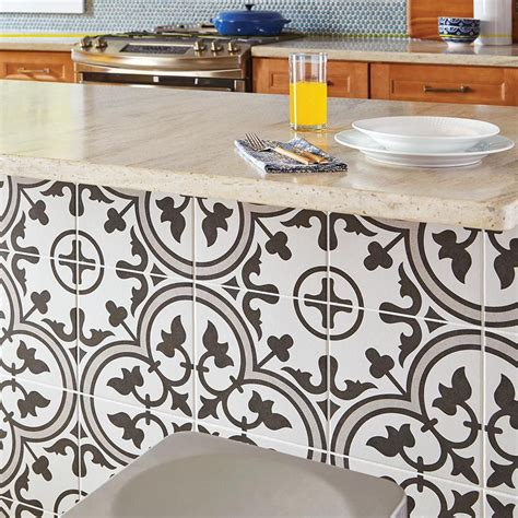 Arte Grey 9 3 4 in x 9 3 4 in Porcelain Floor and Wall