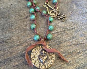 Artisan free spirit beach bohemian jewelry by TwoSilverSisters