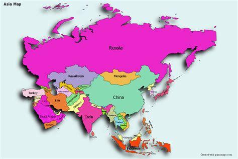 Asia Create Custom Map MapChart