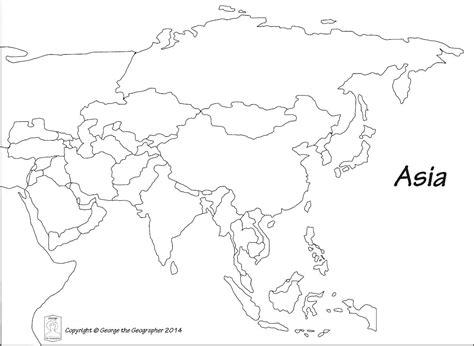 Asia Free maps free blank maps free outline maps free