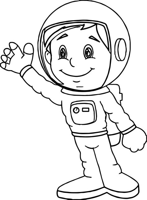 Astronaut Coloring Pages gotyourhandsfull