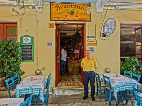 Athens Restaurants by Matt Barrett