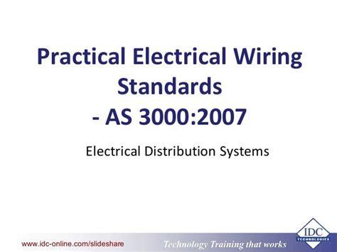Australian Wiring Standards Book