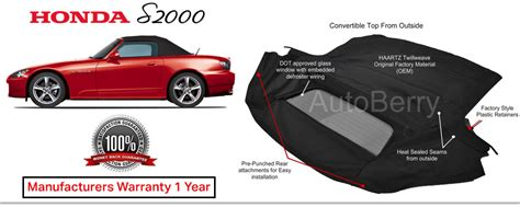 AutoBerry Convertible Tops Seat Covers Headliners