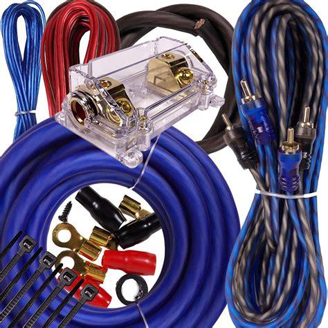 Autozone Amp Wiring Kit