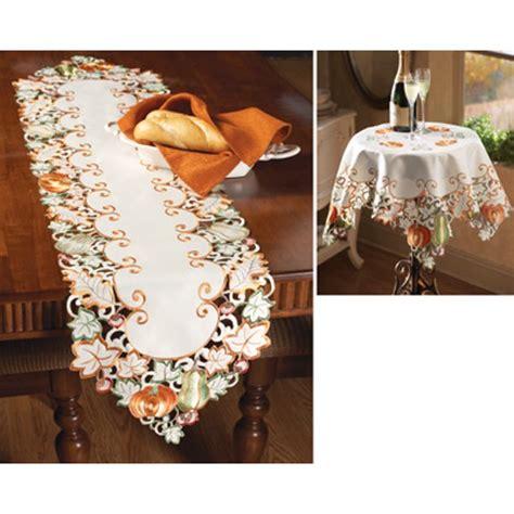 Autumn Harvest Diecut Decorative Table Linens from