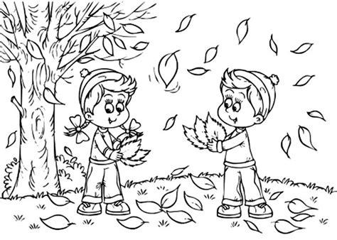 Autumn Season Coloring