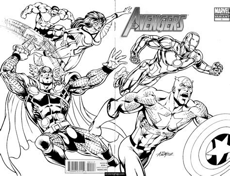 Avengers Coloring Pages for Kids Free Printable Avengers