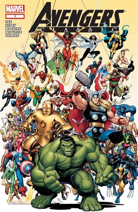 Avengers Comics Marvel