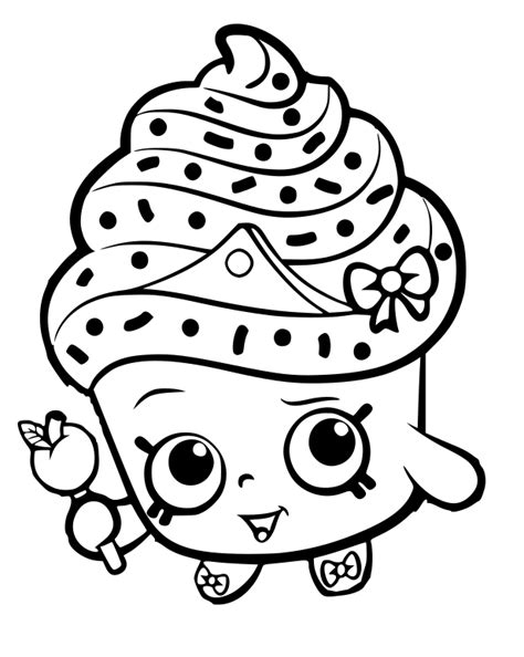 Awesome Cupcake Coloring Pages 50 With Additional Coloring