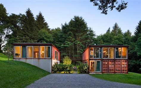 Awesome storage container homes easily transported anywhere