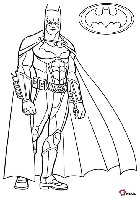 BATMAN COLORING Pages Free Download Printable
