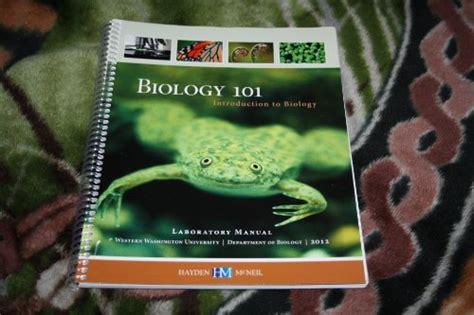 BIO 101 Intro to biology Central Washington University
