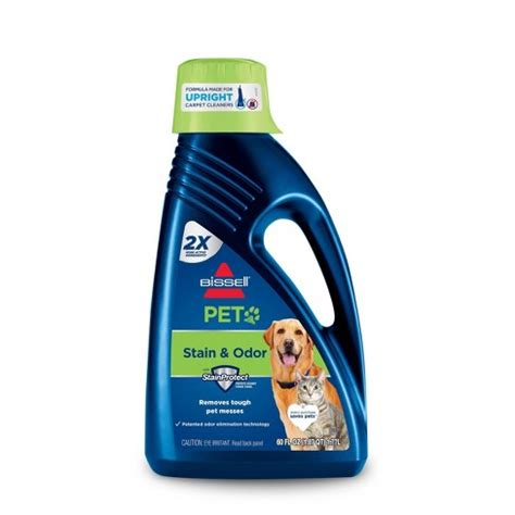BISSELL 2X Pet Stain Odor 60oz Upright Carpet Cleaner