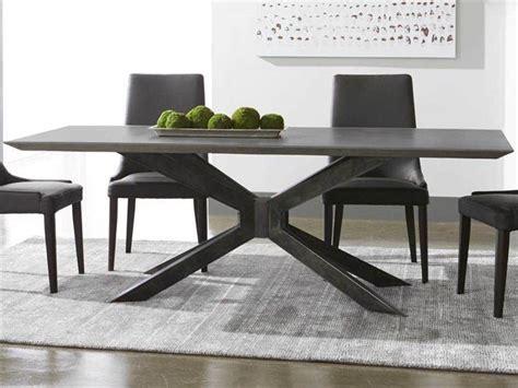 BLOOM Rectangular Dining Table Fixed Ash Gray Ash