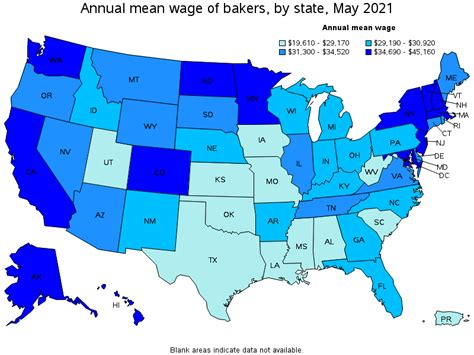 BLS Occupational Employment and Wages 2010 Bakers