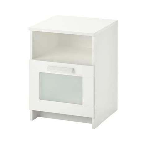 BRIMNES Bedside table White 39x41 cm IKEA