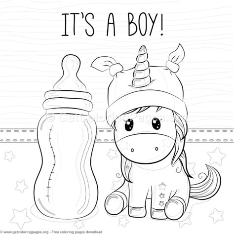 Baby Boy Coloring Pages GetColoringPages