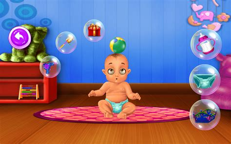 Baby Caring Girl Games
