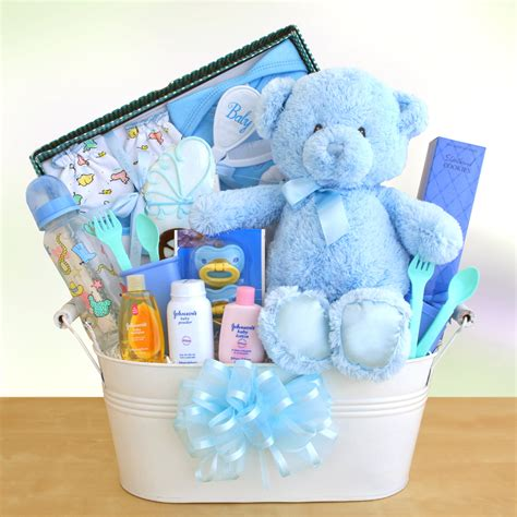 Baby Gift Baskets New Baby Shower Gift Set Ideas