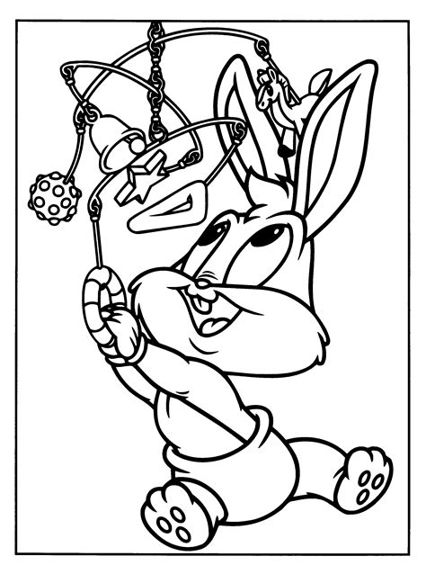 Baby Looney Tunes coloring pages on Coloring Book info