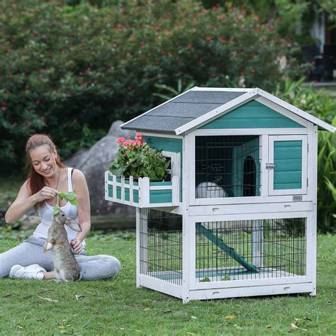 Baby Rabbits Indoor Pet Cages Outdoor Bunny Hutches