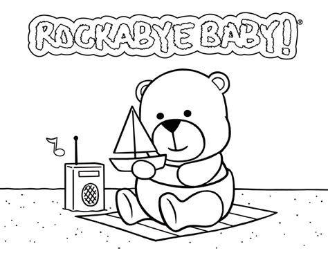 Baby Shower Coloring Pages Kids Coloring Page Gallery