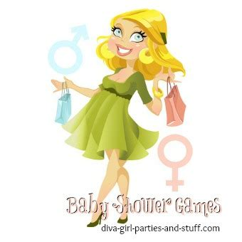 Baby Shower Games Diva Girl Parties and Stuff Party Ideas