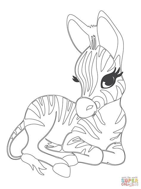 Baby Zebra Coloring Pages Coloring Pages Coloring books