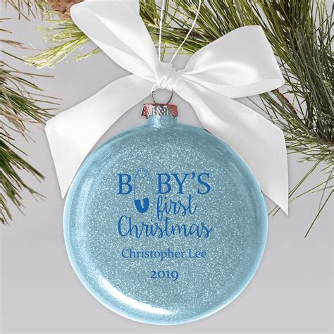 Baby s First Christmas Ornaments PersonalizationMall