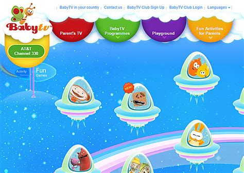 BabyTV Free Baby Games Connecting the Dots