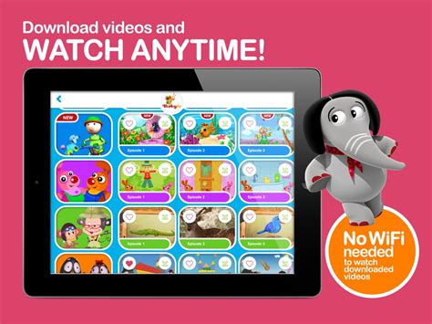 BabyTV iPhone iPad Android Apps for Babies Toddlers