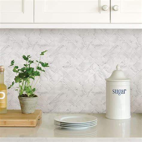 Backsplash Herringbone Tile Flooring The Home Depot