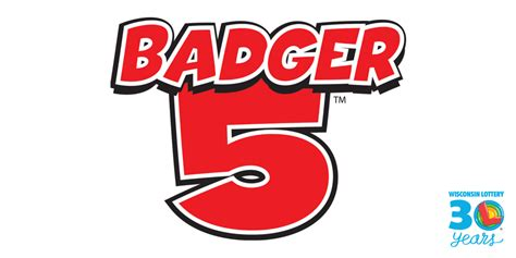 Badger 5 Wisconsin Lottery Result Badger 5 Winning Numbers