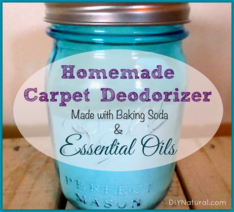 Baking Soda Carpet Cleaner Deodorizer with Essential Oils