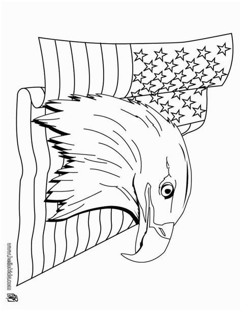 Bald eagle drawings and coloring pages American