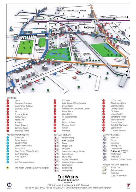 Bangkok Hotel Maps Directions Hilton Sukhumvit Bangkok