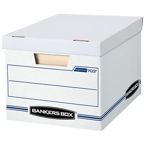Bankers Box StorFile Basic Strength Storage Boxes 15 x 12