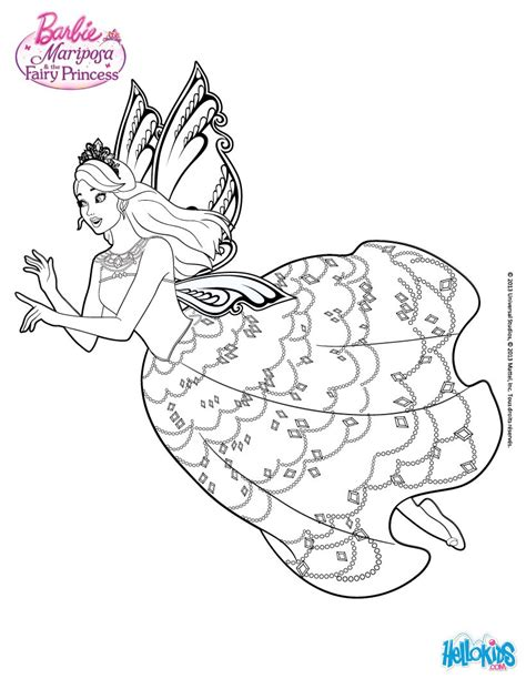 Barbie Coloring pages Kids Crafts and Activities