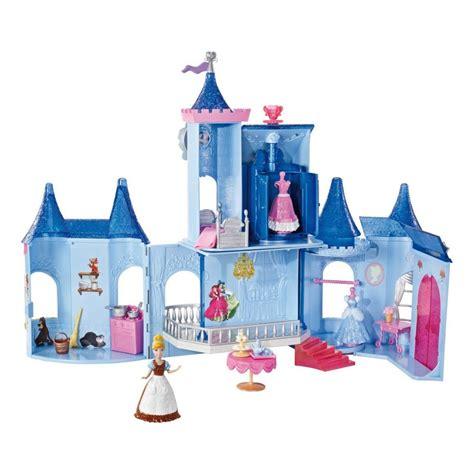 Barbie Dollhouse Disney Princess MagiClip Dolls Castle