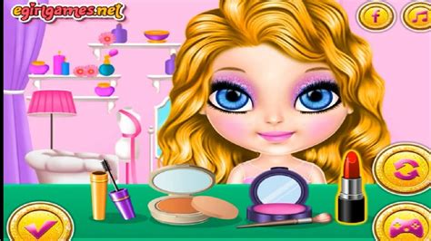 Barbie Games Online Baby Games Baby Dress Up Games