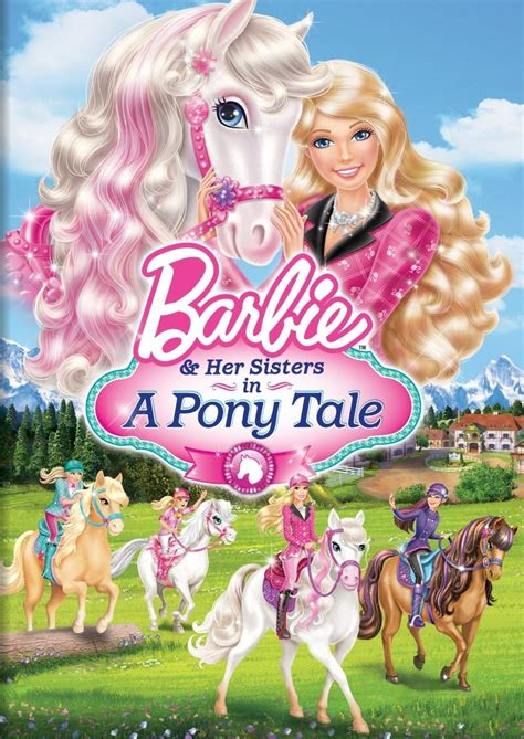 Barbie Her Sisters in A Pony Tale Barbie Movies Wiki