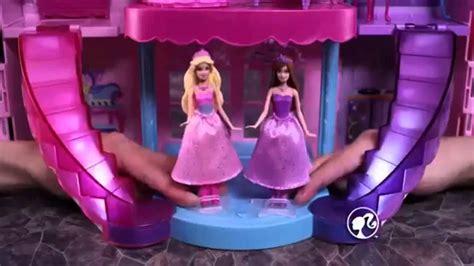 Barbie Musical Light Up Castle Disney Frozen YouTube