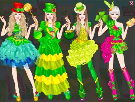 Barbie St Patrick Day Dressup Play The Girl Game Online