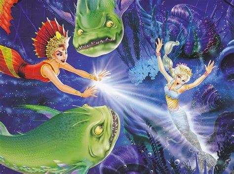 Barbie Una aventura de sirenas Transformaci n a sirena