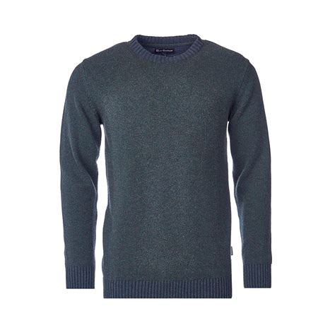 Barbour Houghton Mens Crew Neck Jumper Mens from CHO