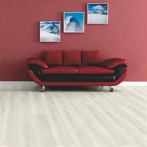 Barranco Cream Painted Wood Effect Laminate Flooring 2 13