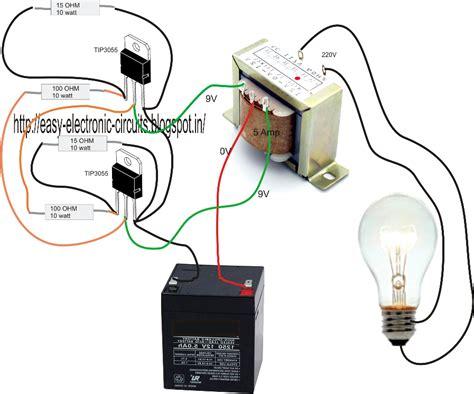 Basic Inverter Circuit Diagram