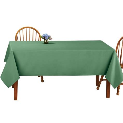 Basic Rectangular Tablecloth Table Linens from Collections